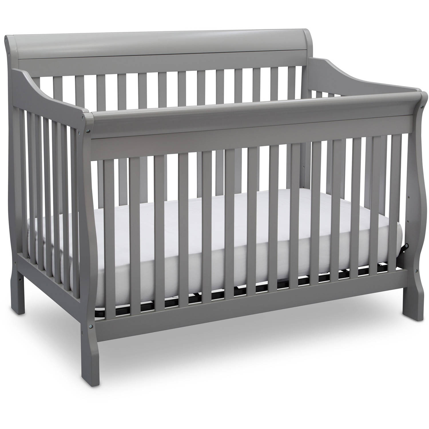 Delta Children Canton 4-in-1 Convertible Crib Gray