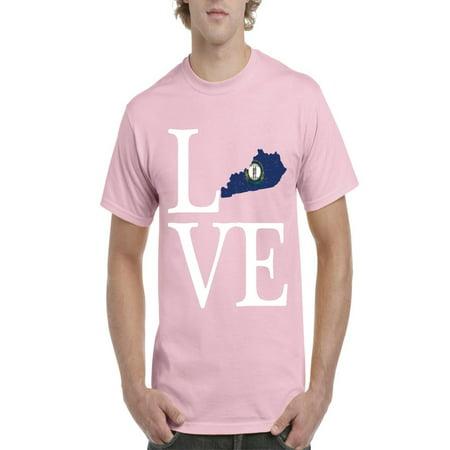 Love Kentucky Men Shirts T-Shirt Tee ()