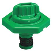 TRICO 24014 Breather Vent,HDPE,1.50 in. H,Green