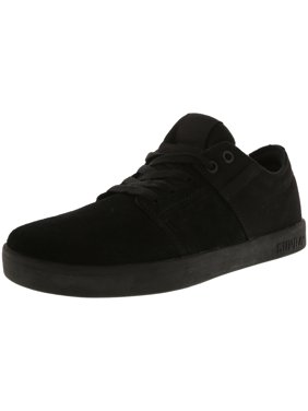 da720851ca13 Product Image Supra Men s Stacks Black   Ankle-High Leather Skateboarding  Shoe - 13M