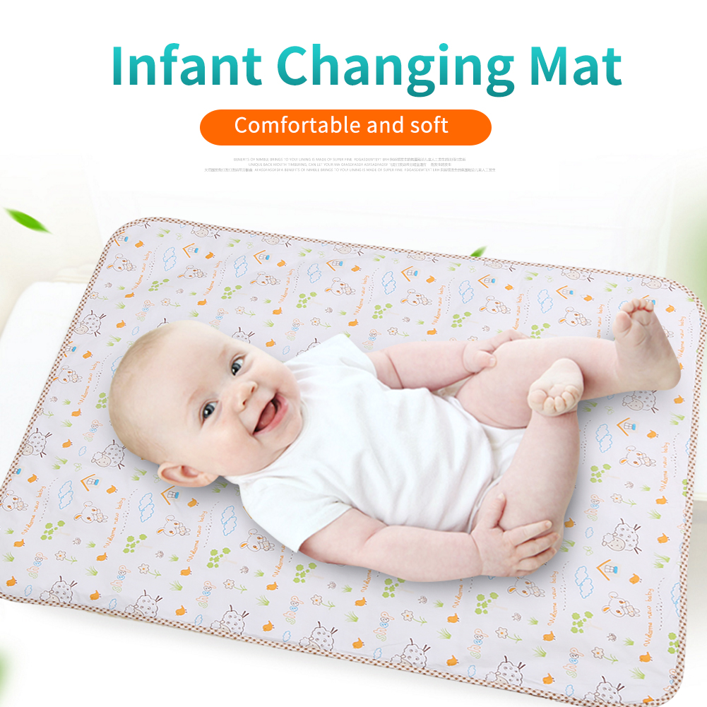 DOACT 6 Layers Baby Diaper Changing Pad Newborns Infant Child Breathable Waterproof Mat , Infant Changing Mat,Diaper Changing Pad