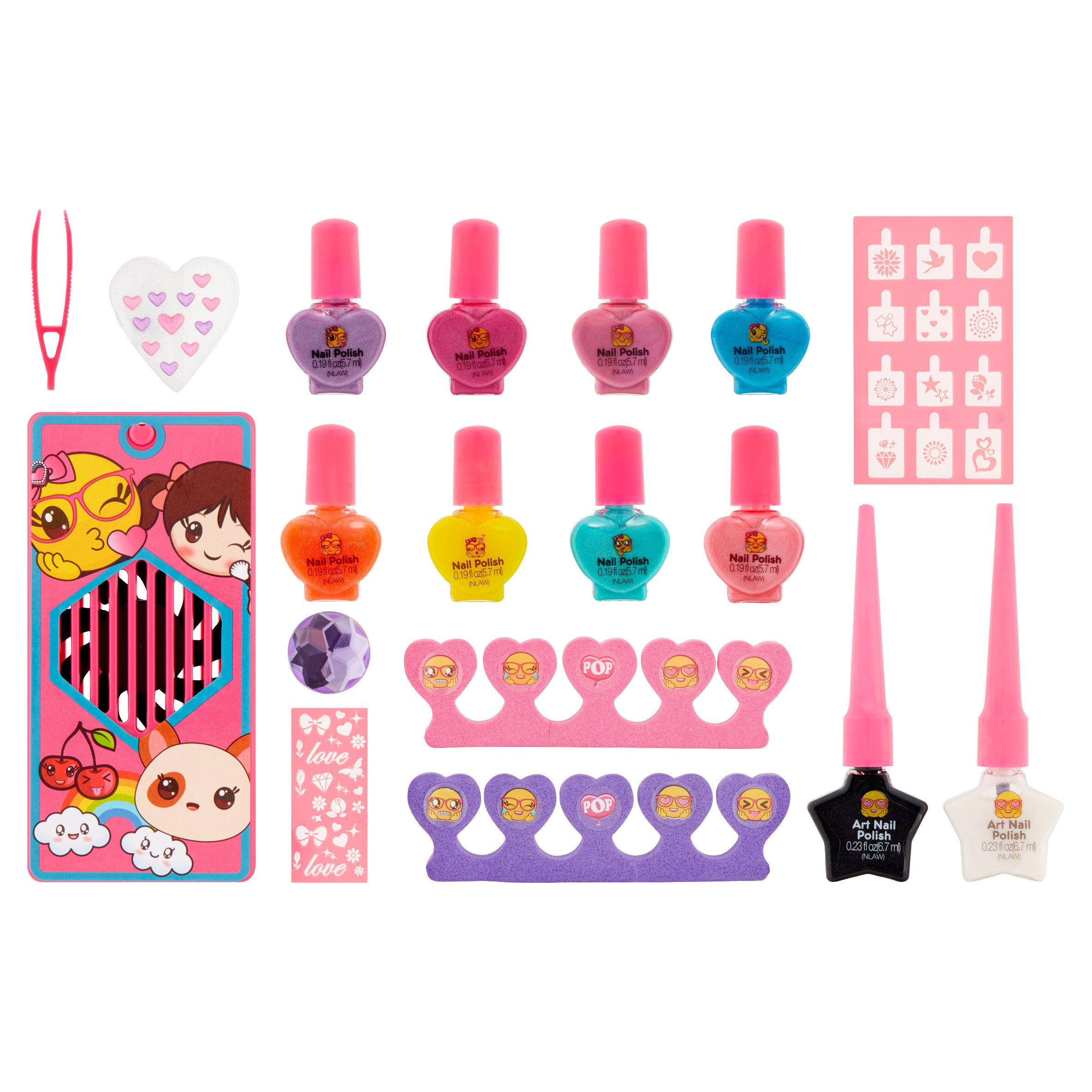 Pop Magical Manicure Nail Salon Collection, 18 piece