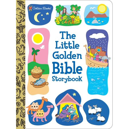 Time Bible Storybook (The Little Golden Bible Storybook (Board Book))