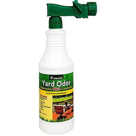 Naturvet Yard Odor Killer Plus With Citronella, 32 Oz