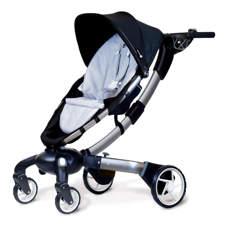New 4moms Origami Stroller, Black/ Silver - Model - 4M-006-01-000201