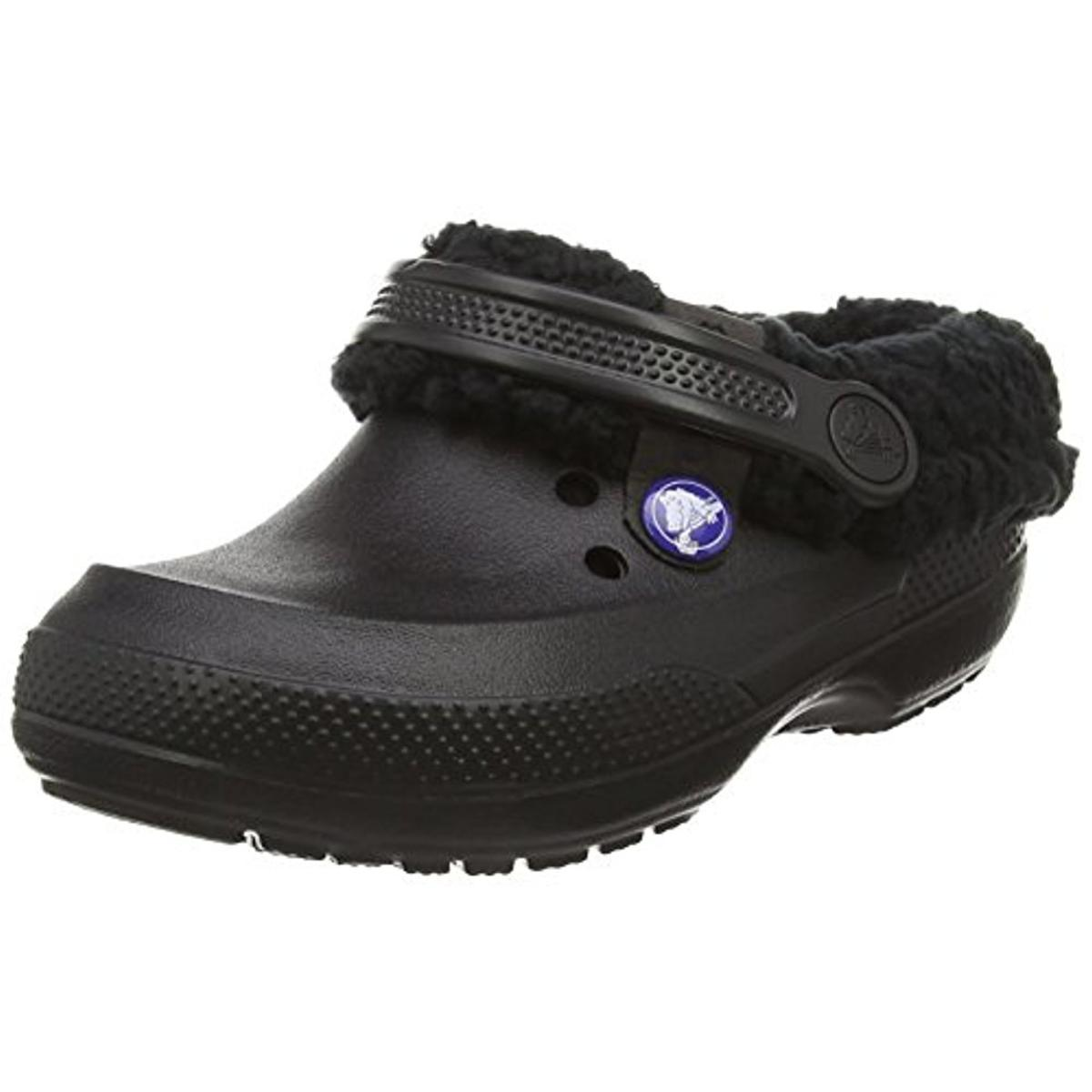 Crocs Girls Classic Blitzen II Faux Fur Casual Clogs by Crocs