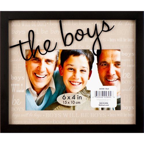 Frame, 4x6 Exp The Boys Walmart