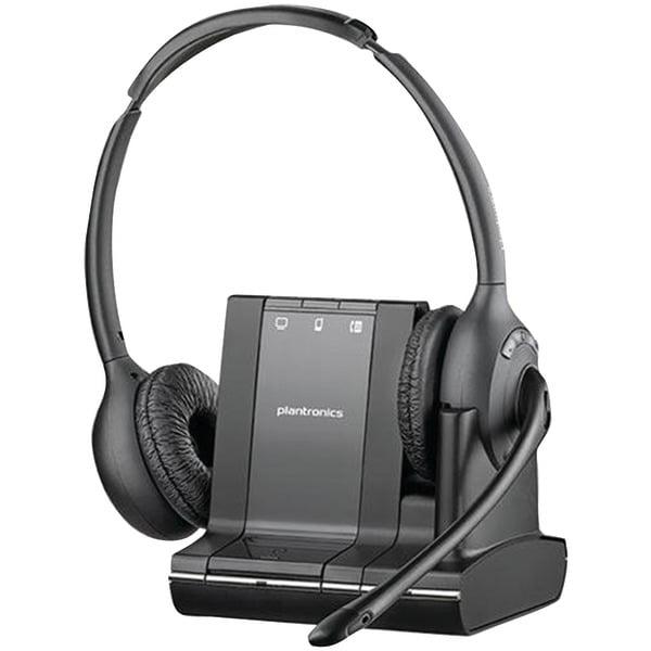 Plantronics PL-84004-01 Savi W720M Over-the-Head Binaural...