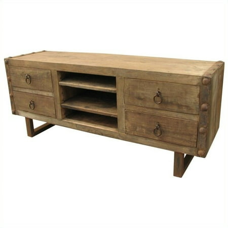Moes Home Agio Entertainment Unit in Natural