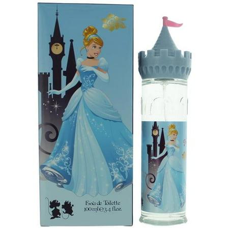 Disney Princess awdiscc34s 3.4 oz Disney Cinderella Eau De Toilette Spray for Girls (Perfumes For Grils)