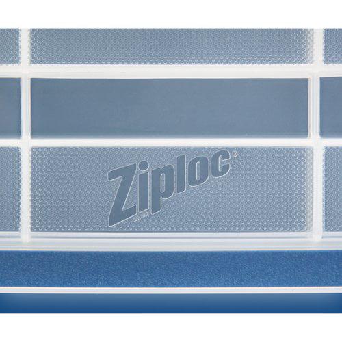 Storage Box Ziploc 44qt Weathershield Clear Latched