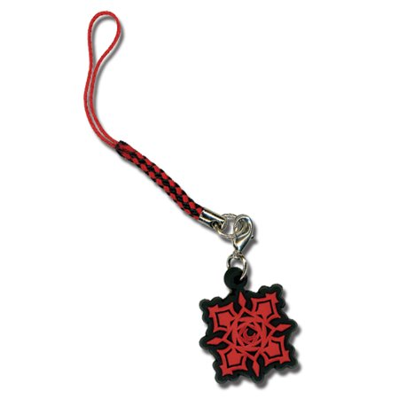 Cell Phone Charm - Vampire Knight - New Cross Academy Rose Rubber ge6298 (Vampire Knight Phone Charm)