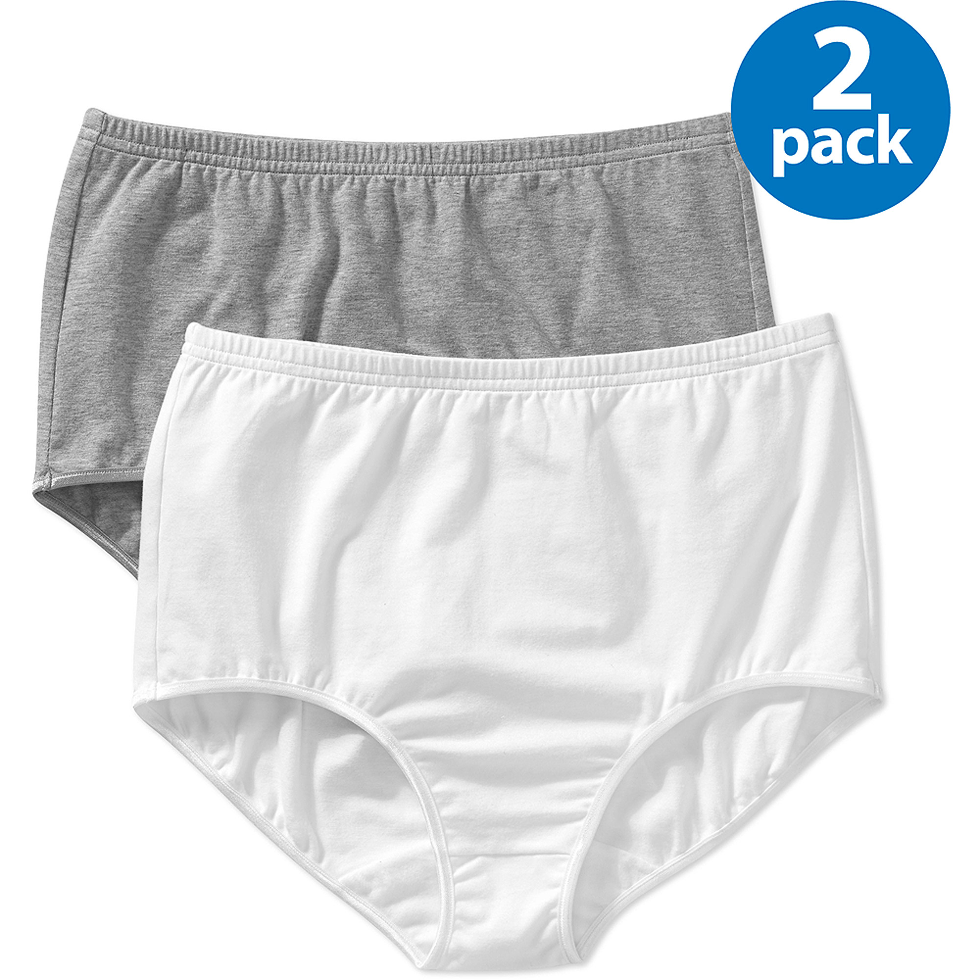 Best Fitting Panty Cotton Stretch Brief, 2PK