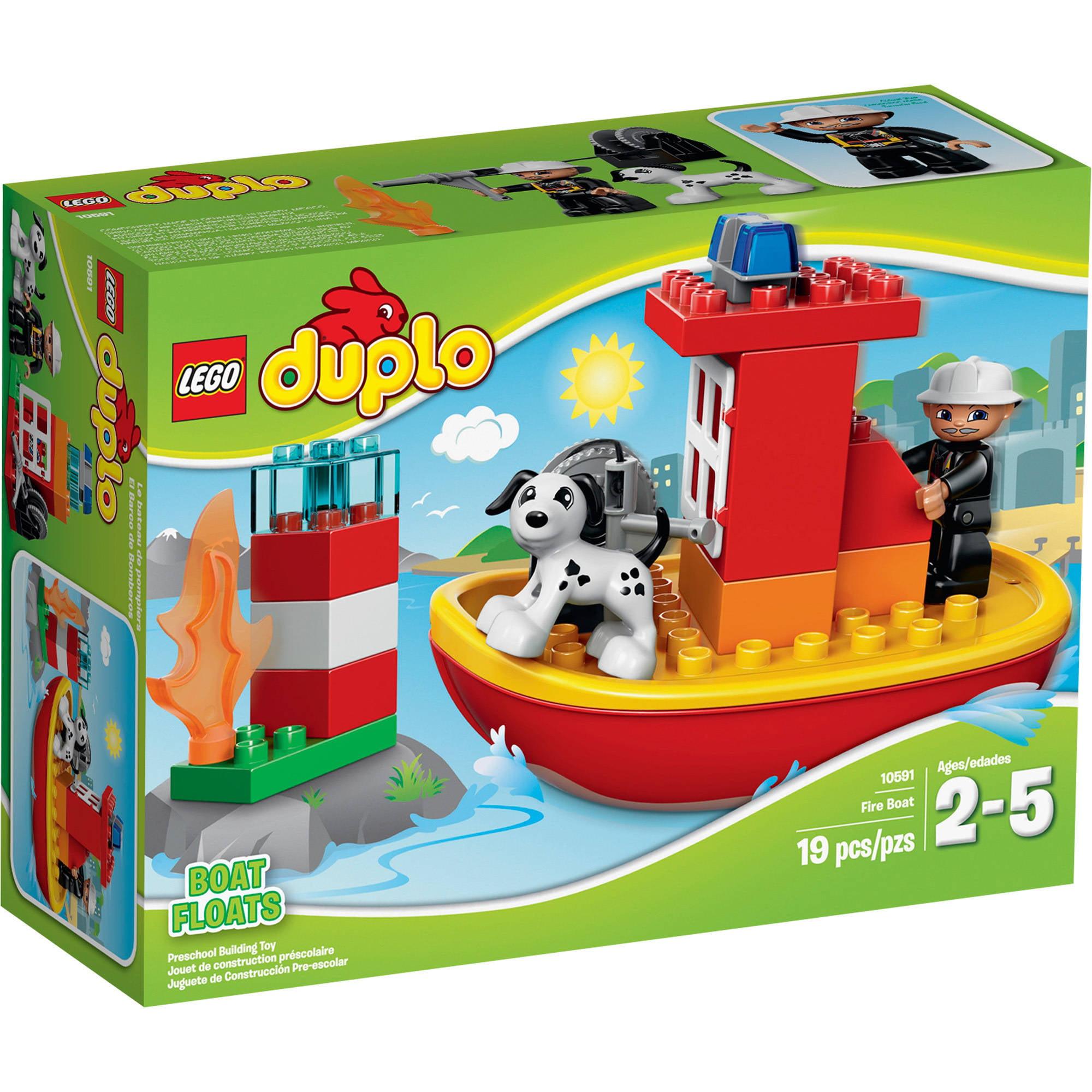 Lego Duplo Town Fire Boat 10591 Walmart