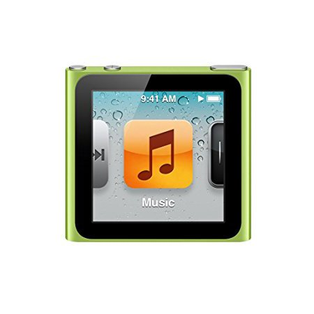 Apple iPod Nano 6th Generation 8GB Green Like New- No Retail Packaging!