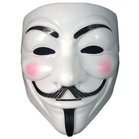 Smartoy V For Vendetta Mask Guy Fawkes Halloween Masquerade Party - Guys Masquerade Masks