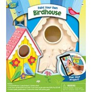 MasterPieces Works of Ahhh…Birdhouse (Lovebirds) Wood Paint Kit