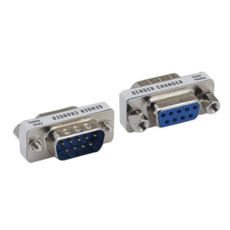 - Kentek Mini DB9 9 Pin Male to Female M/F Serial/AT Modem Mini Adapter Gender Changer Coupler RS-232 Straight Through Peripheral