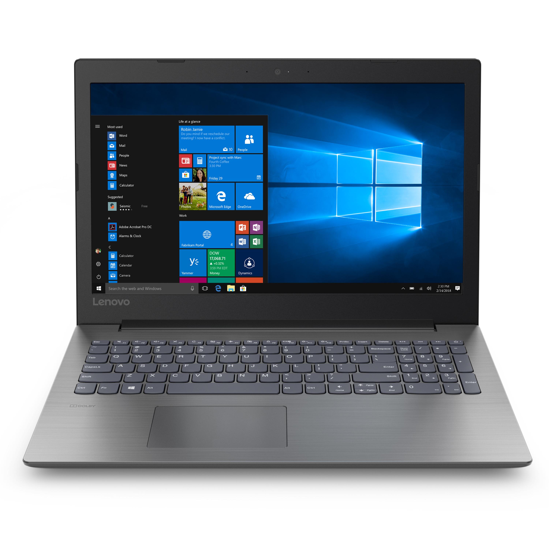 "Lenovo ideapad 330 15.6"" Laptop, Intel Celeron N4000 Dual-Core Processor, 4GB RAM, 1TB Hard Drive, DVDRW, Windows 10 - Platinum Grey - 81D1000CUS"