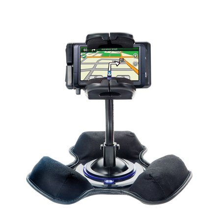 Car   Truck Vehicle Holder Mounting System For Garmin Nuvi 265Wt 265T Includes Unique Flexible Windshield Suction And Universal Dashboard Mount Option