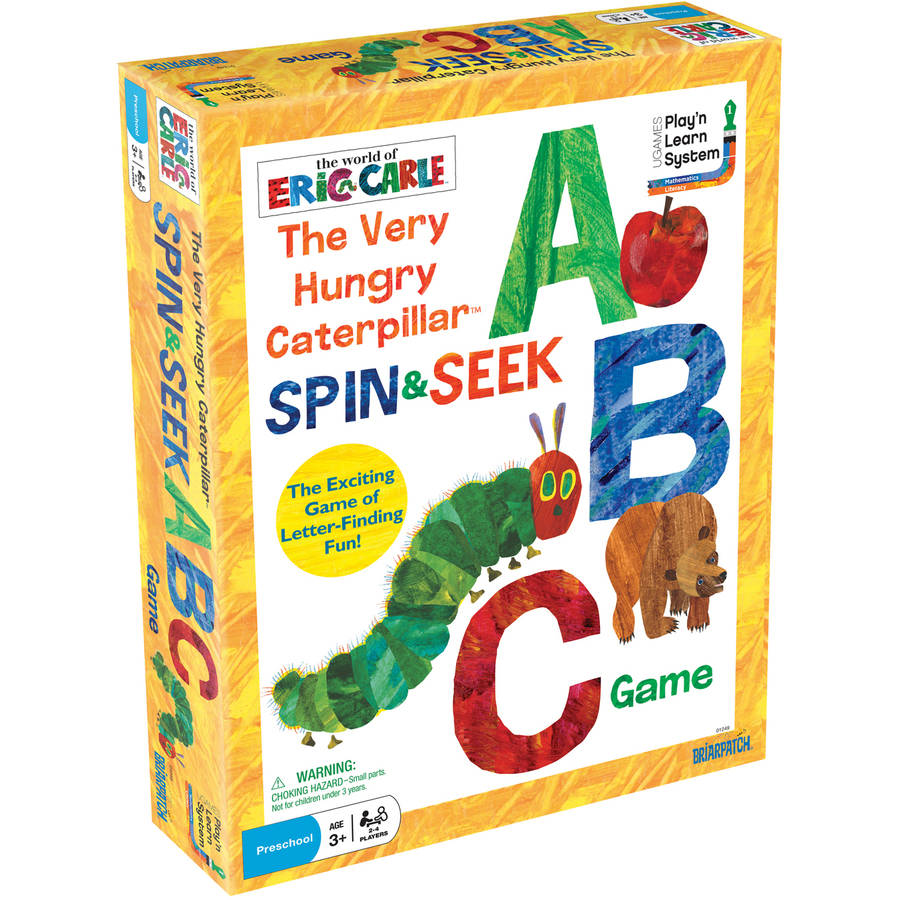 The Very Hungry Caterpillar Spin and Seek ABC Game