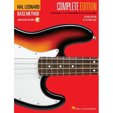 Hal Leonard Bass Method - Complete Edition : Books 1, 2 and 3 Bound Together in One Easy-To-Use Volume! (Hal Leonard Blues Saxophone)