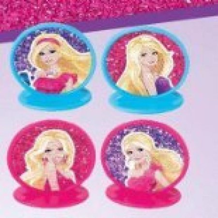 Barbie 'High Fashion' Cupcake Toppers - Barbie Cupcake Toppers