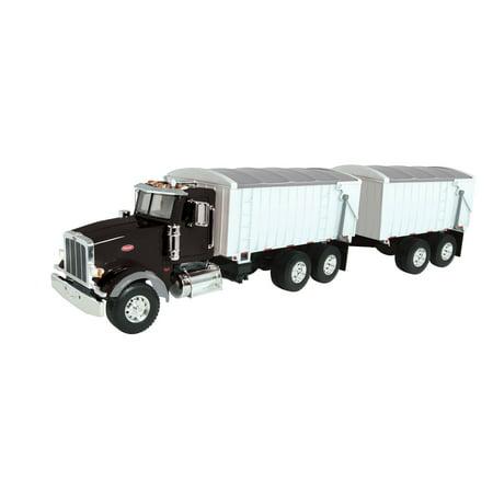 Tomy - Big Farm Lights & Sounds Peterbilt 1:16 Model 367 Straight Truck (Model Peterbilt)