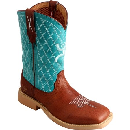 Twisted X Boys Hooey Cowboy Boot Square Toe   Yhy0006