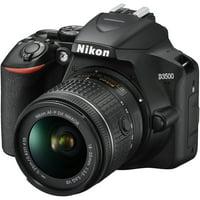 Nikon D3500 W/ AF-P DX NIKKOR 18-55mm f/3.5-5.6G VR Black