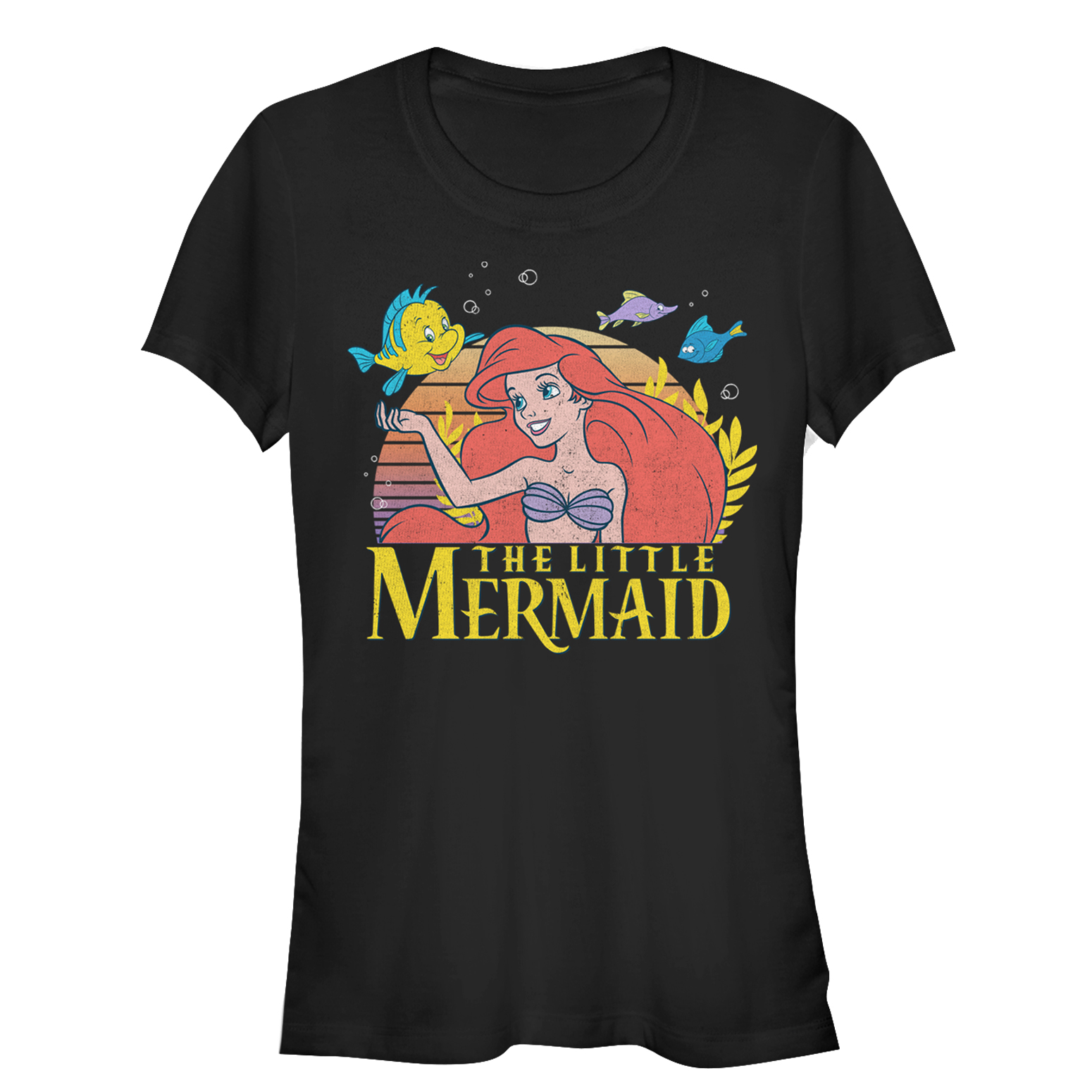 The Little Mermaid Juniors' Ariel Classic T-Shirt