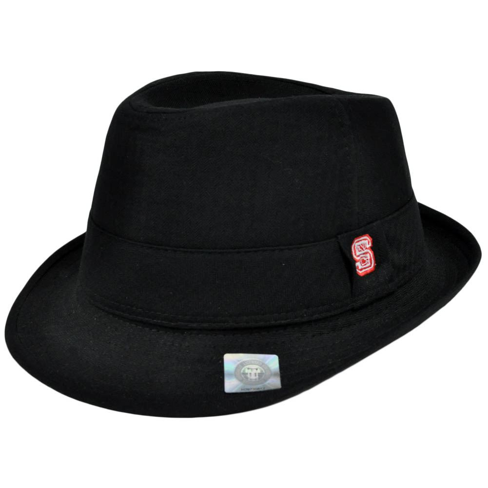 Top of the World North Carolina State Wolfpack Fedora Trilby Hat Small Medium