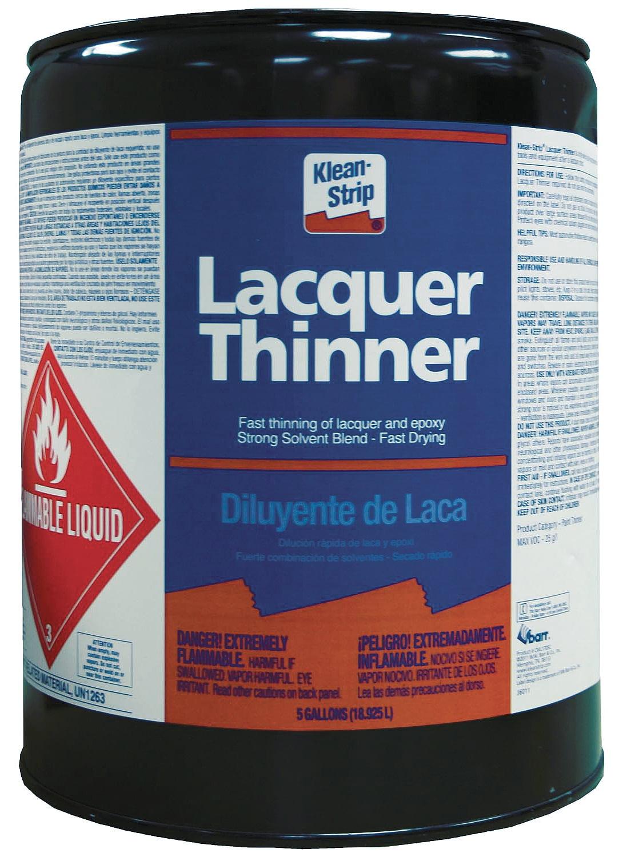 Klean Strip Green Lacquer Thinner, 1qt - Walmart.com