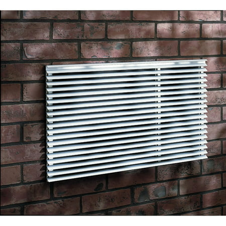 Aluminum Exterior Grille - Frigidaire Architectural-Style Exterior Louvered Grille