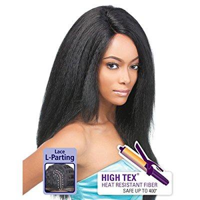 Outre Lace Front Wig - TESS (1 - Jet Black) (Jet Black Wig)