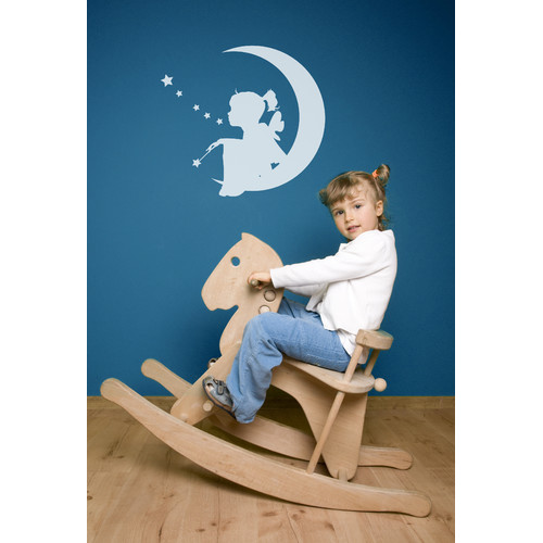 ADZif Piccolo Moon Fairy Wall Decal
