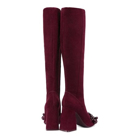 Tory Burch Womens Addison Leather Round Toe Knee High Fashion - image 1 of 2