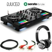 Hercules DJControl Inpulse 500 DJ Software Controller + Stereo Audio Cable + Hosa Interconnect Cable + Numark Professional DJ Headphones