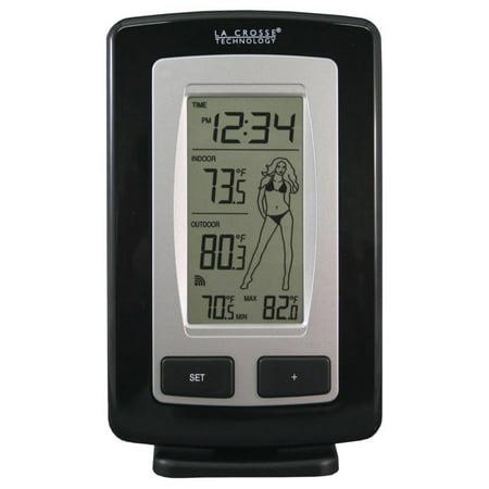 Lacrosse Wireless Temperature Station - La Crosse Technology Wireless Temperature Station with Advanced Icon