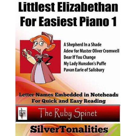 Littlest Elizabethan for Easiest Piano 1 - - Elizabethan Dress For Men