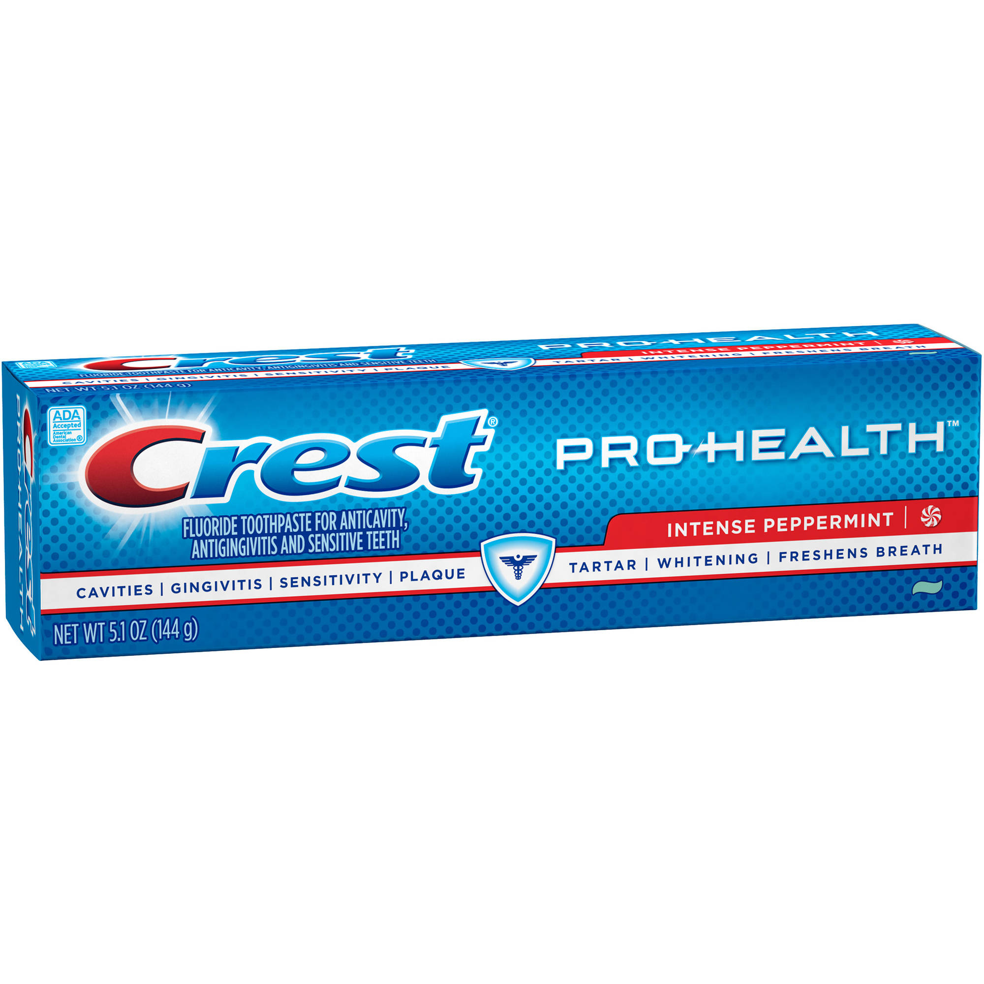 Crest Pro-Health Intense Peppermint Toothpaste, 5.1 oz