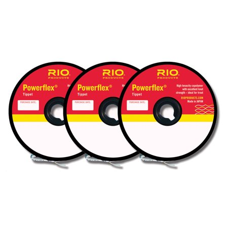 Rio Fly Line Backing (RIO Powerflex Multi-Weight 30 yard Fly Fishing Tippet - 3)