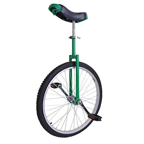 24 inch Wheel Unicycle Green