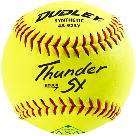 Dudley ASA Thunder Heat Fastpitch Softball 11 12 Ball Pack