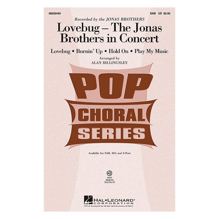 Lovebug Costume (Hal Leonard Lovebug - The Jonas Brothers In Concert (Medley) 2-Part by Jonas Brothers Arranged by Alan)