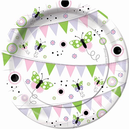 Butterfly Wishes Dessert Plates](Butterfly Plates)