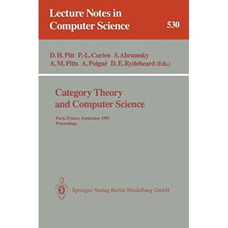 Category Theory And Computer Science