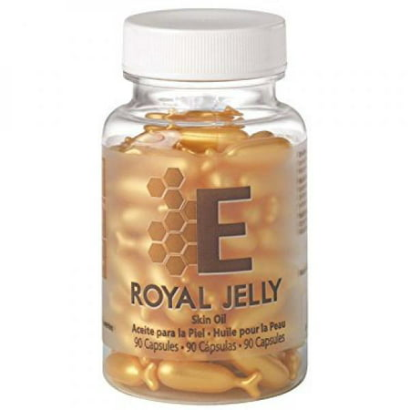 Royal Jelly Skin Oil Capsules by EasyComforts 90 capsules ()