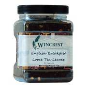 Bulk Loose Black Tea Leaves - 8 Oz Container (English Breakfast)