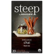 Tea Bags: steep by Bigelow